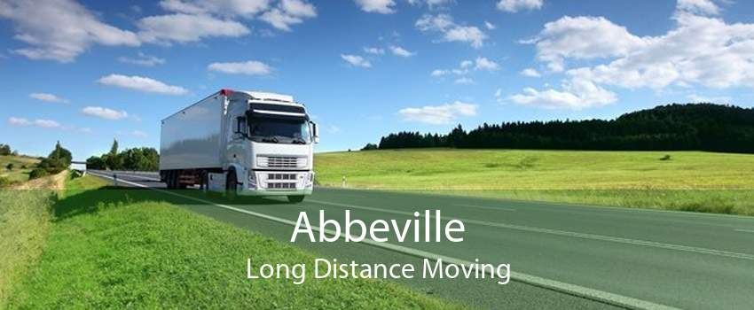 Abbeville Long Distance Moving