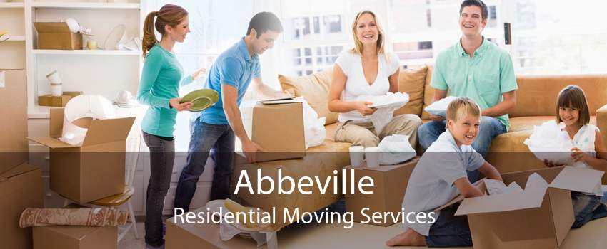 Abbeville Residential Moving Services