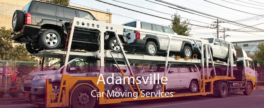 Adamsville Car Moving Services