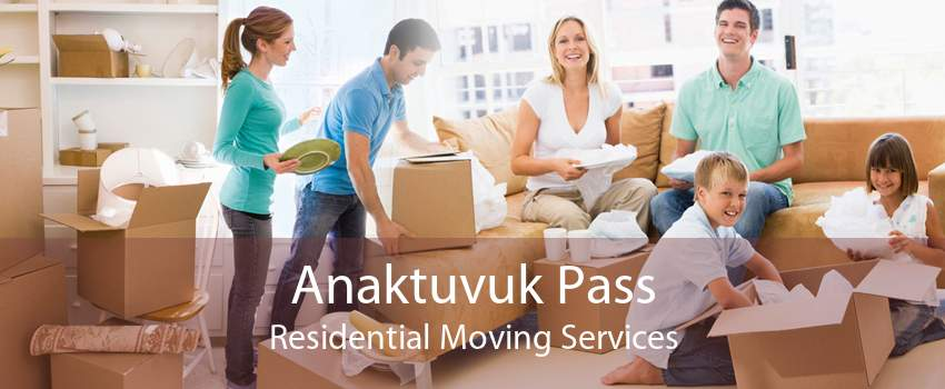 Anaktuvuk Pass Residential Moving Services