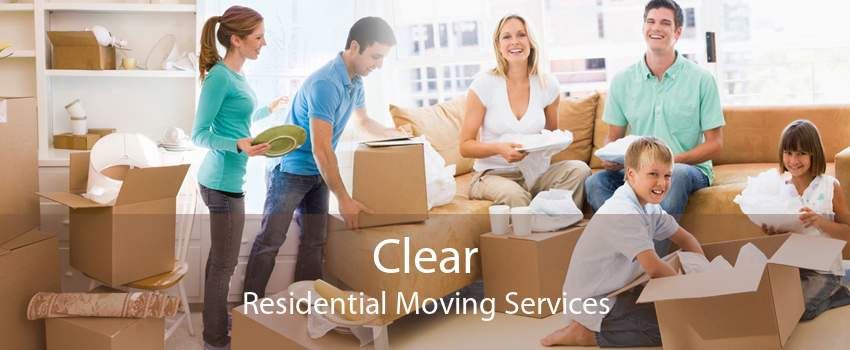 Clear Residential Moving Services