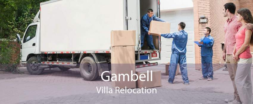 Gambell Villa Relocation