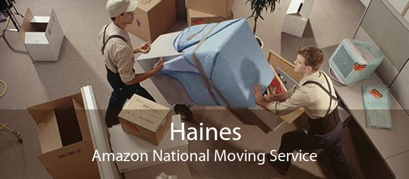 Haines Amazon National Moving Service