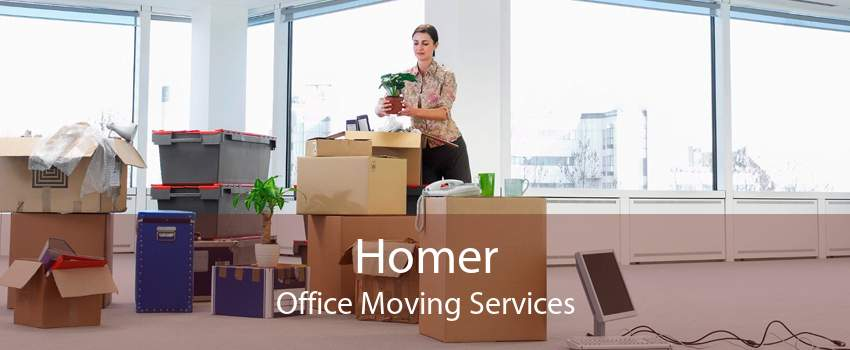Homer Office Moving Services