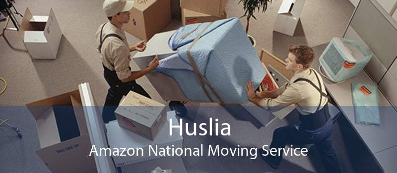 Huslia Amazon National Moving Service